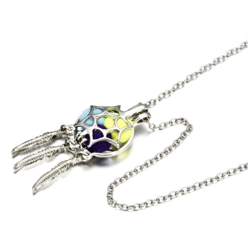 Dream Catcher Pearl Cage Floating Locket Necklace NO Akoya Oyster Pearl 1pc
