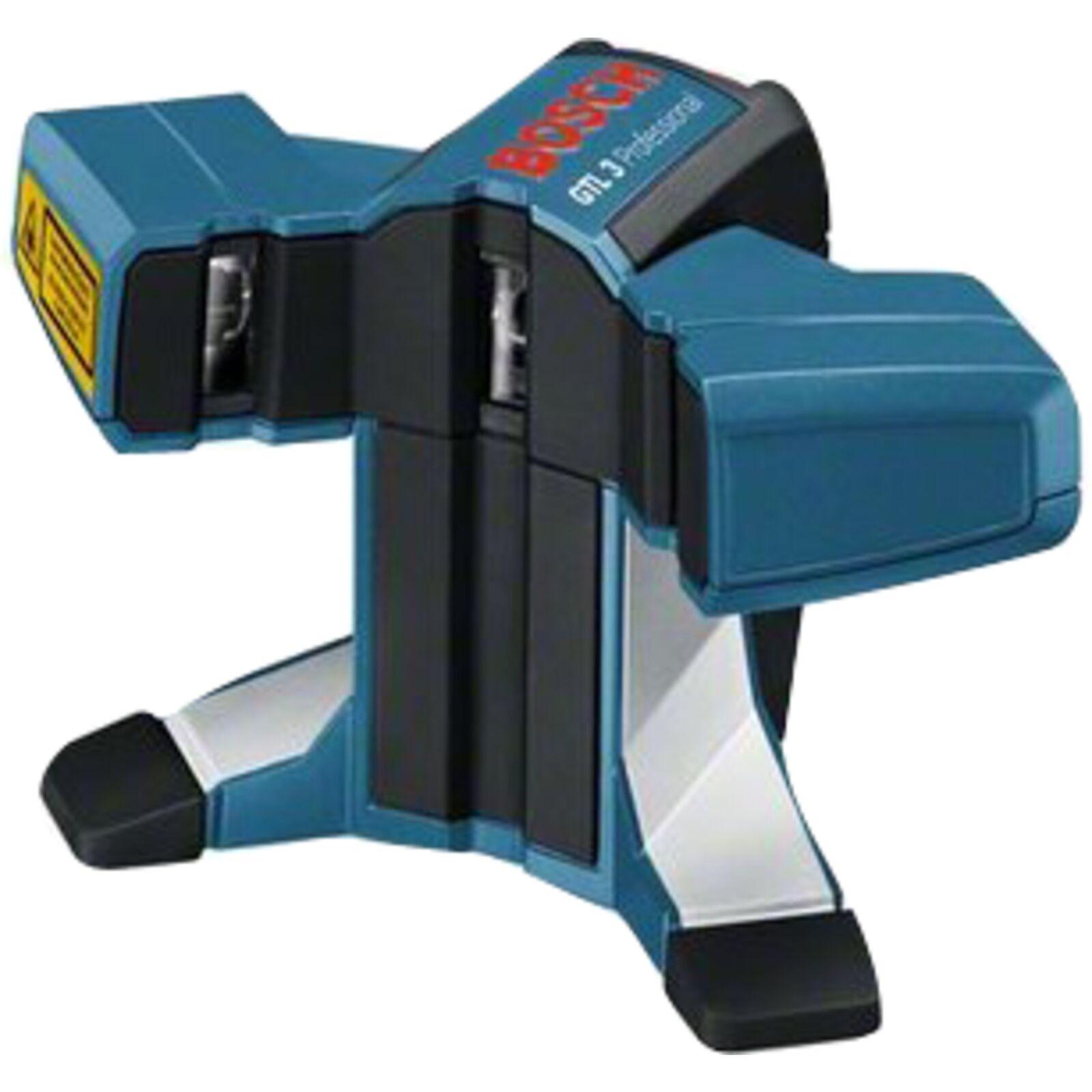 Bosch Professional Fliesenlaser GTL 3 Professional, Linienlaser, blau