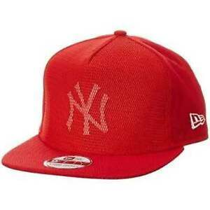 NEW-ERA-CAPPELLO-NEW-YORK-YANKEES-TG-M-L-MESH-CORE-NY-ROSSO-80259351-RETE-SNAP