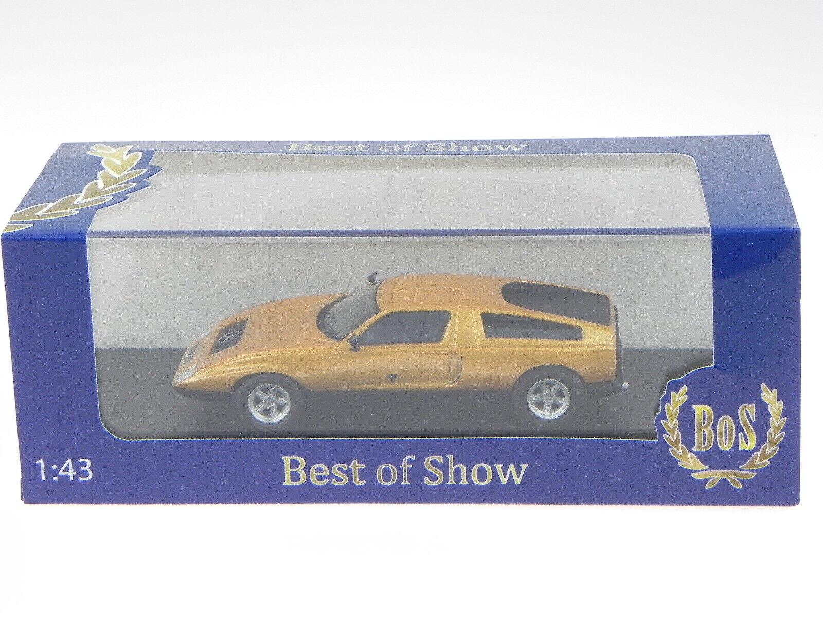 Mercedes C111 arancio modellino 43195 BOS BOS 43195 1 43 ef6104