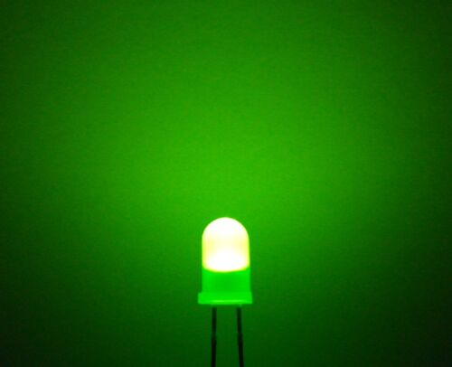 Blue White Green Orange Yellow Diffused LEDs 5mm Red UK Seller