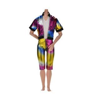 2-Pcs-set-Fashion-Colorful-Rainbow-Jacket-Pant-for-Barbies-Ken-FF
