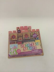 My Very Own Princess Stamps Rubber Color Zone 13 Pce. Set Create Your Own Scenes