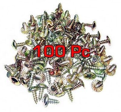 Modified Truss Head  Phillips  #8 Screws 1-1//2 inch long   LOT 100 pc zinc AB