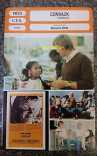 US Movie Conrack Pat Conroy John Voight Tina Andrews French Film Trade Card