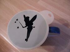 LASER CUT TINKERBELL BACCHETTA Design Caffè e artigianali Stencil