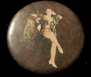Two (2) Burlesque Mirrors c.1890 featuring erotic images of Women
