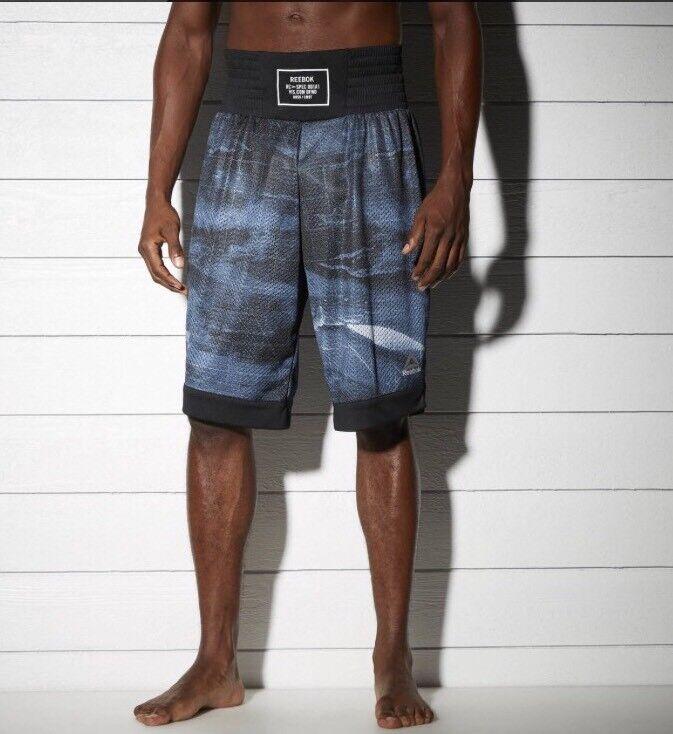 Mens Reebok Combat Prime Boxing Shorts Free Shipping Size Small