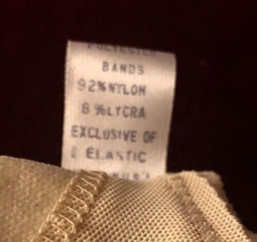 Details about  /Vintage Bra Nylon Polyester Beige Adjustable Smooth Lycra Seamless 1970s NEW 36B