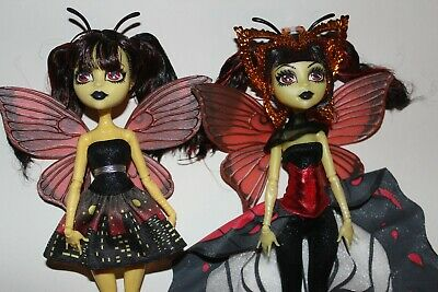 monster high doll luna mothews boo york lot of 2 | ebay