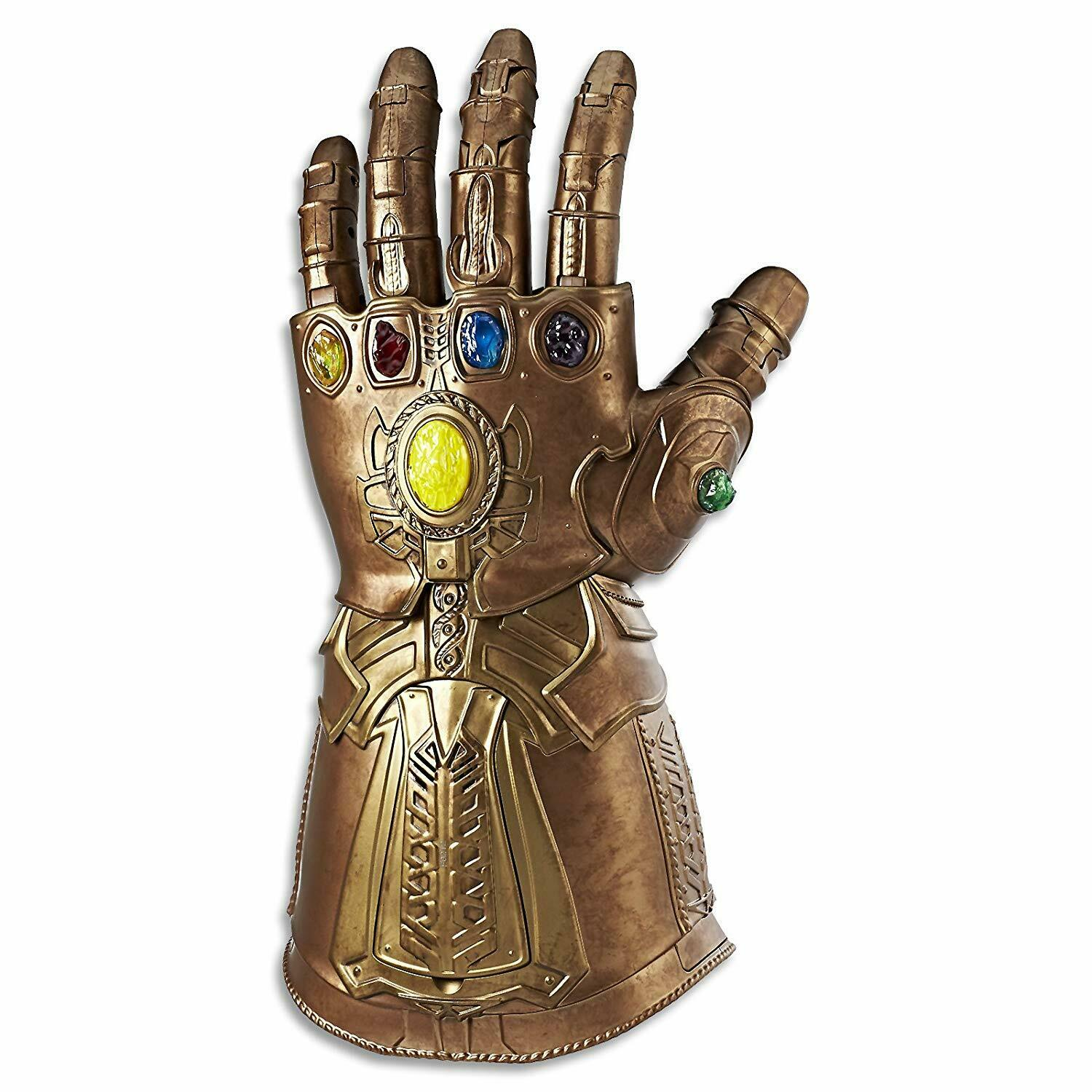 Avengers Infinity War Gauntlet Stones Thanos Electronic Fist Toy For Kids Adult