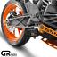 thumbnail 1 - KTM DUKE 125 EXHAUST / RC 125 2017 - 2020 GRmoto Muffler Carbon