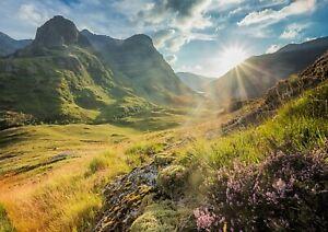 A4-Glencoe-Mountains-Poster-Print-Size-A4-Scotland-Nature-Poster-Gift-16116