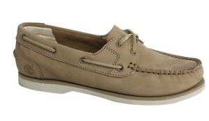Up Timberland D36 Boat Lace Earthkeepers A14e1 Shoes Leather Beige Womens qESC1wE