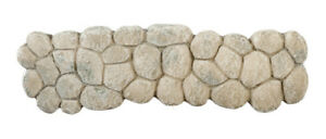 Walkway Featuring Large Grey Stones Doll House Miniature, Garden Accessory, Path
