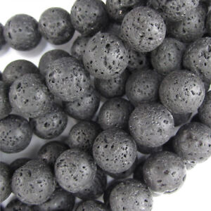 Lava,15 inch full strand Lava round beads,jacinth color 6mm 8mm 10mm 12mm for Choice