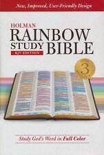 KJV Holman Rainbow Study Bible, Hardcover