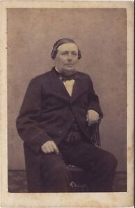 Caze Fotografia Primitivo A Cambrai Foto CDV Vintage Albumina Ca 1860