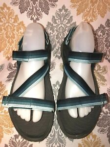 b32a3cb637f WOMEN S MERRELL ALL OUT BLAZE WEB SEA PINE SANDAL J37608 SIZE 9   40 ...