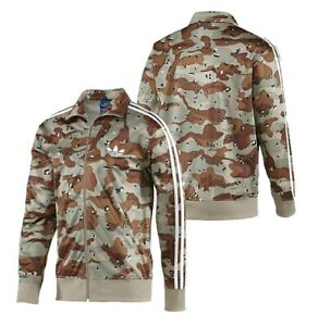 Details about Adidas Originals Camouflage Army Military Jacket Sand Brown Paintball Gangsta