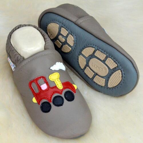 Baby zapatos zapatillas de casa Exclusiv lauflernschuhe #688 locomotoras