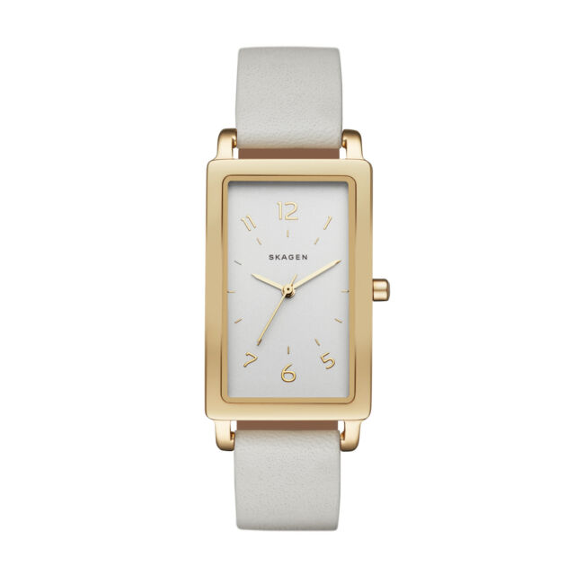 8824df10ea2b Skagen Hagen Leather Band Stainless Steel Women s Watch SKW2566