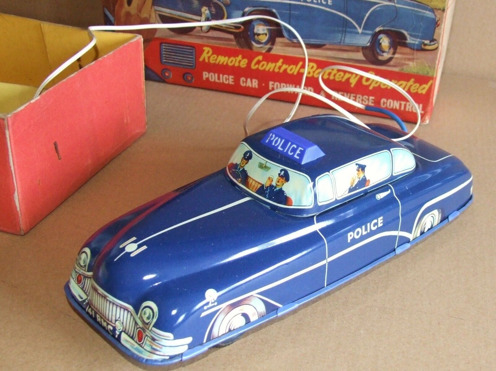 Welsotoys 141  Police Car Remote Control Battery Operated