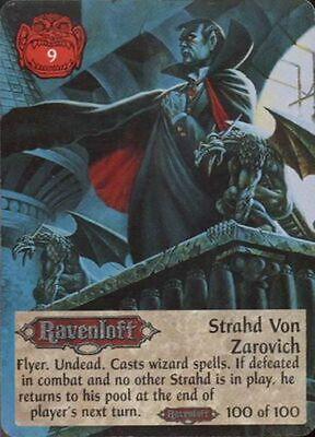 Spellfire Ravenloft Strahd Von Zarovich 100/100 | eBay