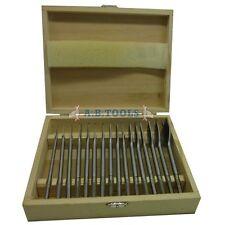 16pc Madera Plana Drill Bit Conjunto de herramientas de carpintería/Carpintería/6mm - 38mm TE558