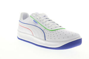Puma-GV-Special-TFS-37342001-Mens-White-Leather-Lifestyle-Sneakers-Shoes-10-5