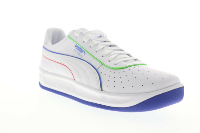Puma GV Special TFS 37342001 Mens White Leather Lifestyle Sneakers Shoes 10.5