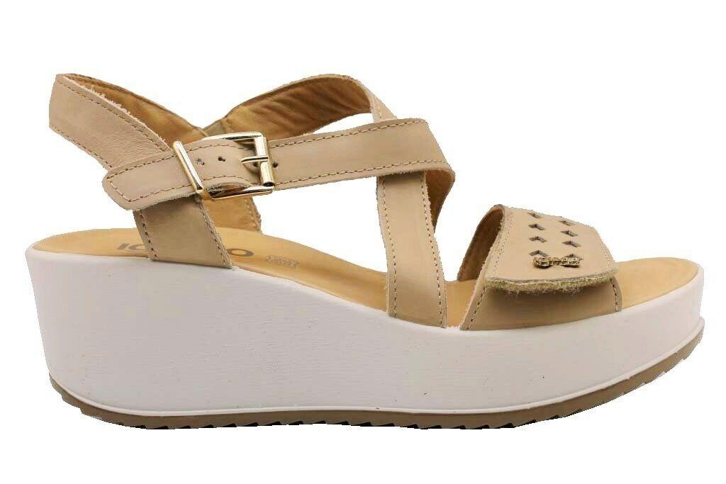 Igi & Co 3173533 Biber Schuhe Komfortabel Sandalen Wedges Frau