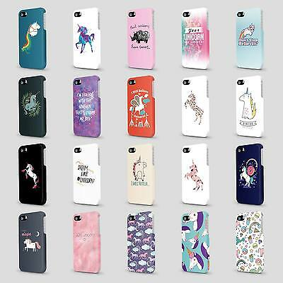 CUTE UNICORN ANIMAL HORSE CASE HARD COVER FOR HTC
