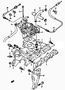 image is loading kick-down-cable-throttle-valve-control-suzuki-sidekick-