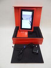Nabi 2  Wi-Fi 7in - Red - BROKEN AS IS - OEM USB Power Cord & Box bundle