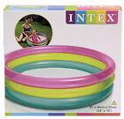 Intex Inflatable Rainbow Kids Baby Paddling Swimming Pool 34