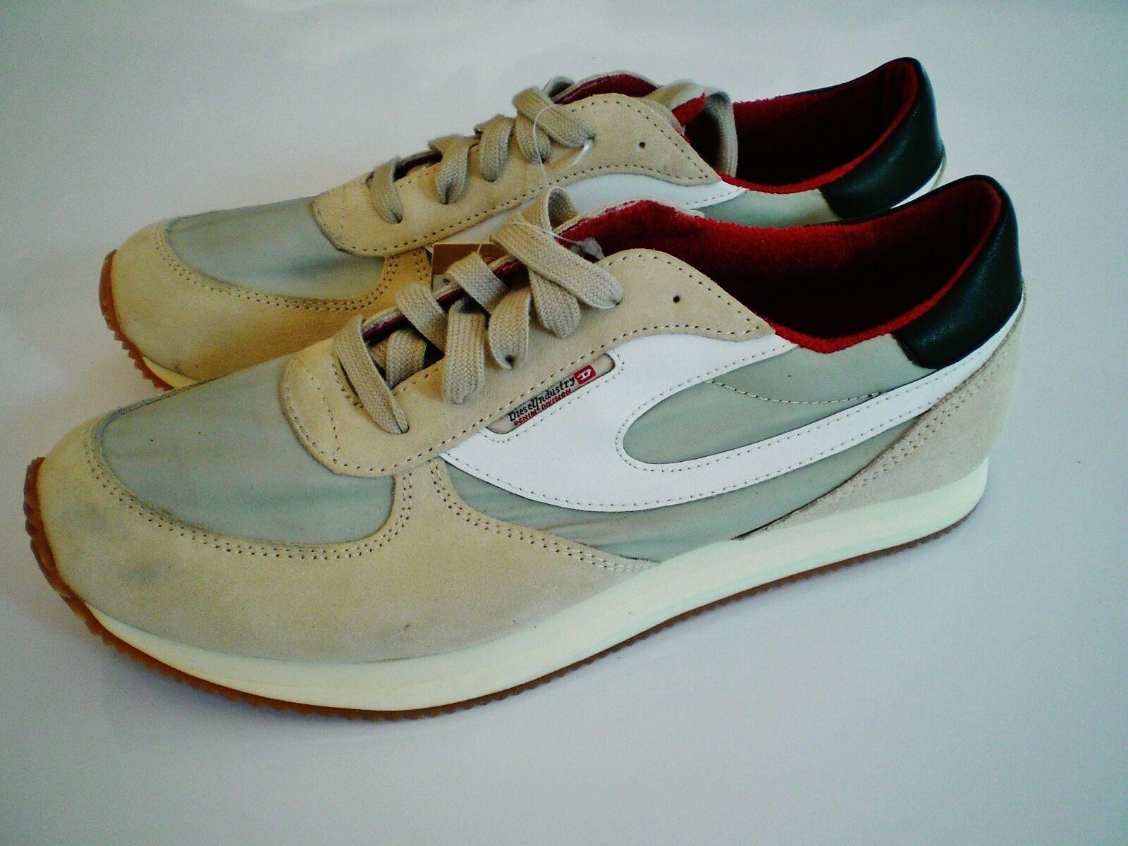 Original diesel zapatos f. d. user zapatos caballero talla 43 cortos zapatillas de deporte nuevo