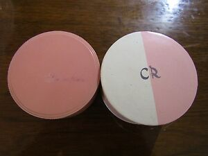 Charles of the Ritz Hand Blended Face Powder + Marion Bialac Powder Box