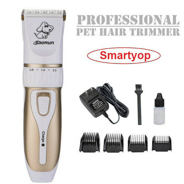 Professional Electric Pet Hair Trimmer Scissor Dog Grooming Clipper Rechargeable