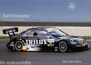 Mercedes-Poster-C-Klasse-DTM-2007-Ralf-Schumacher-DINA3-Autoposter-PKW-Nr-056