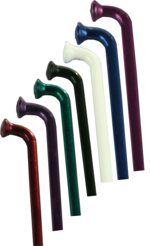 4 rayons 276 mm renforcée tête 2,2 x1 8 x 2,0 MM dans divers couleurs anodisé