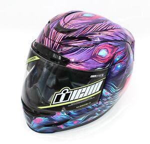 Icon Airmada Opacity Helmet Size XS Purple