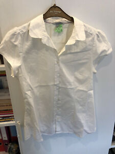 chemise manche courte blanche H&M t38