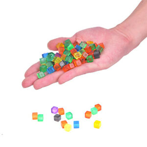 100Pcs-8mm-Square-Corner-Colorful-Crystal-Dice-Chess-Piece-Right-Angle-Dice-C-KT