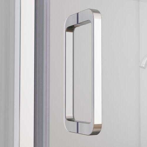 75 x 75 cm Duschkabine Eckig Dusche 180° Falttür Duschwand 75cm Seitenwand NANO