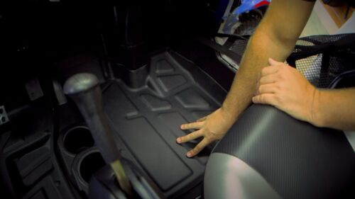 liners 900 XP 2009-14 800 Laser Fit New Polaris Razor RZR Rubber Floor mats