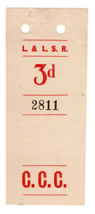I-B-Londonderry-amp-Lough-Swilly-Railway-Parcel-Stamp-3d