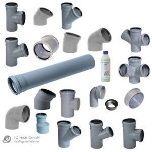 Ht Rohr Abwasserrohr Formstucke Abwasser Installation Dn 40 50 75