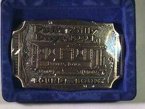 Vintage-1991-Pufferbilly-Days-Boone-Iowa-Belt-Buckle