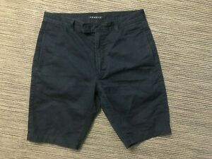 Theory-Adult-Mens-29-Chino-Shorts-Navy-Blue-Russell-S-Hoover